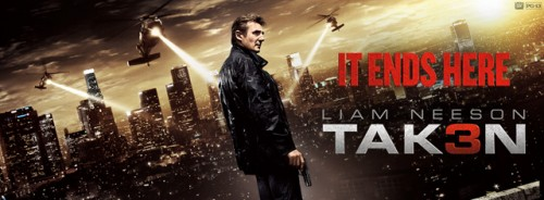 taken 3 tak3n busqeuda implacable 3 banner poster criticsight