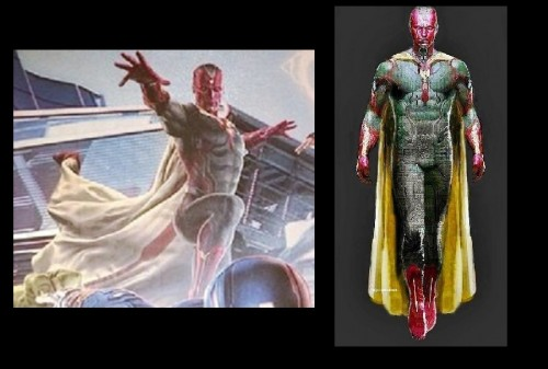 vision look aspecto avengers age of ultron 2015 ejemplo criticisght