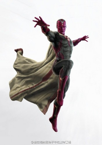 Arte Avengers Age of Ultron, Black Widow, HulkBuster y Más de The Vision criticsight 4