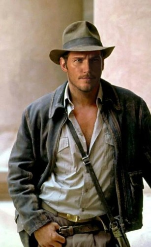 Chris Pratt indiana jones 2015 criticsight