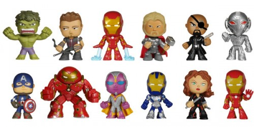 Estos son Todos los Coleccionables de Funko Basados en Avenges Age of Ultron criticsight mistery minis collection