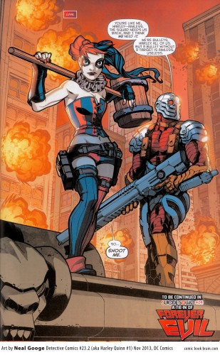 deadshot y harley quinn suicide squad 2016 criticsight