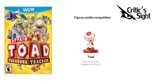 figuras amiibo compatibles con captain toad trasure tracker criticsight