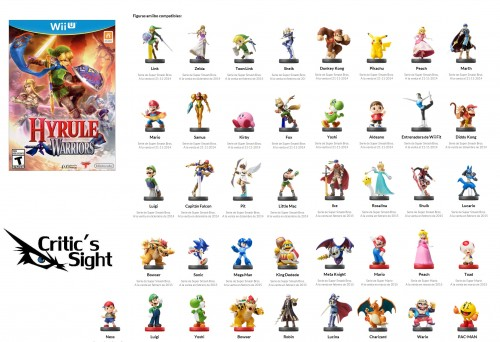 figuras amiibo compatibles con hyrule warriors 2015 criticsight