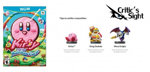 figuras amiibo compatibles con kirby and the rainbow curse criticsight
