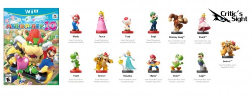 figuras amiibo compatibles con mario party 10 criticsight