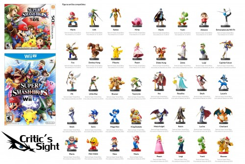 figuras amiibo compatibles con super smash bros 3ds wii u 2015 criticsight