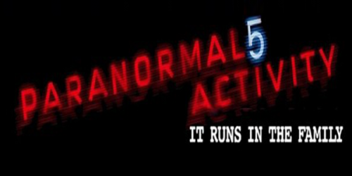 paranormal activity 5 fan logo criticsight 2015