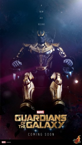 thanos hot toys guardians of the galaxy criticsight poster 2015