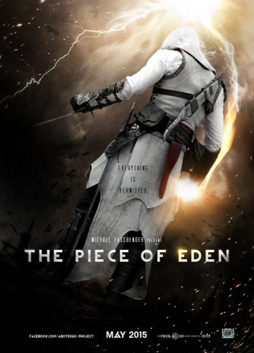 the piece of eden assassins creed fan poster