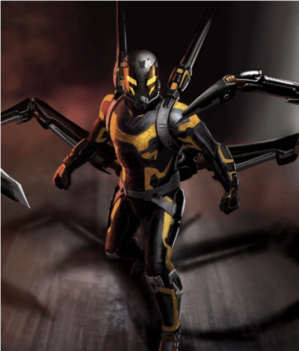 yellow jacket andt man concept art criticsight