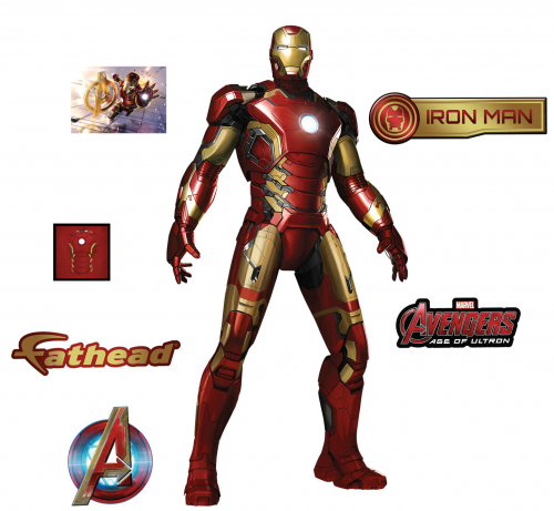 Arte e Ilustraciones de Avengers Age of Ultron (2015) criticsight imagen  iron man calcomanias