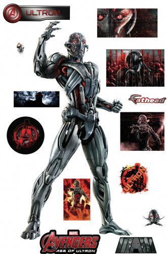 Arte e Ilustraciones de Avengers Age of Ultron (2015) criticsight imagen  ultron calcomanias