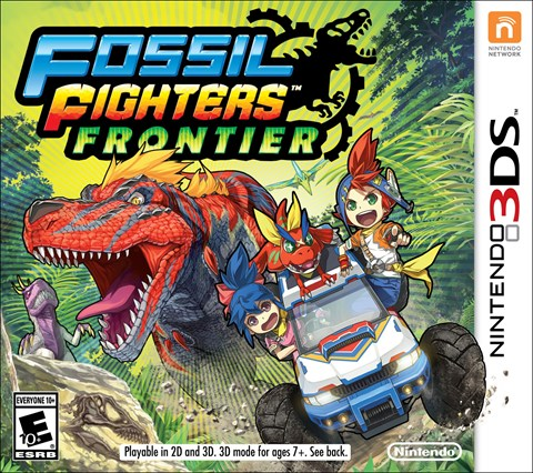 Fossil Fighters Frontier disponible solo en 3DS  criticsight