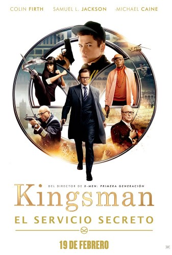 Kingsman El Servicio Secreto poster latino final mexico español 2015 criticsight
