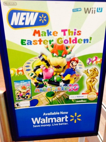 amiibo gold dorado exclusivo walmart criticsight 2015