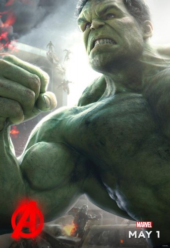 hulk poster avengers age of ultron criticsight 2015