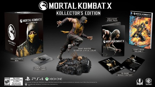 mortal kombat X edicion de coleccion solo amazon criticsight 2015