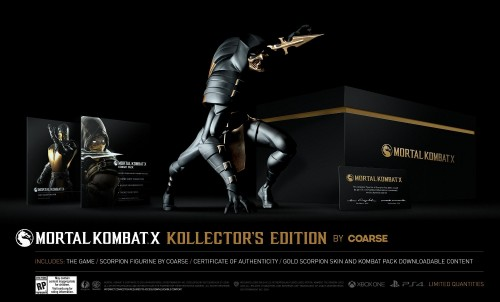 mortal kombat X edicion de coleccion version coarse 2015 criticsight