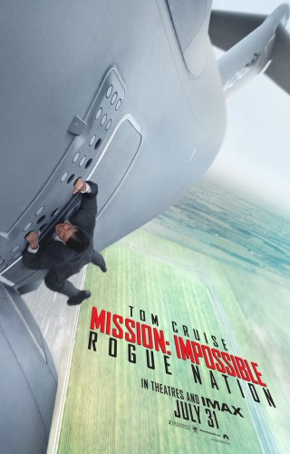 """Mission Impossible Rogue Nation"" criticsight imagen poster 1"