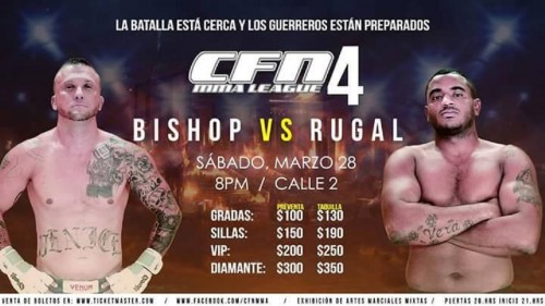 CFN 4 MMA LEAGUE 2015 BISHOP VS RUGAL 2015