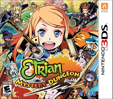 Etrian Mystery Dungeon disponible solo en 3DS criticsight