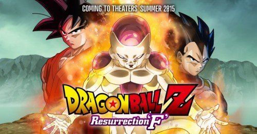 "Fecha de Estreno en USA de Dragon Ball Z Resurrection ""F"" (2015) portada criticsight"