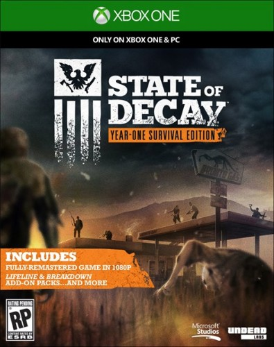 State of Decay Year-One Survival Edition disponible solo en XBOX One criticsight