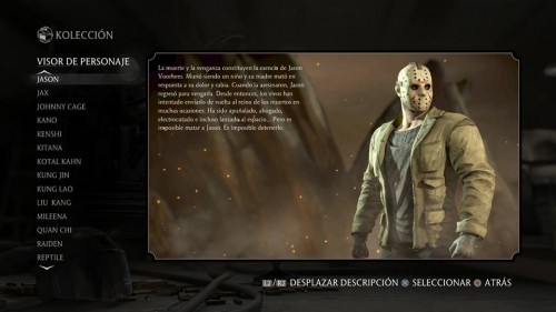 Jason traje 1 normal mortal kombat x criticsight