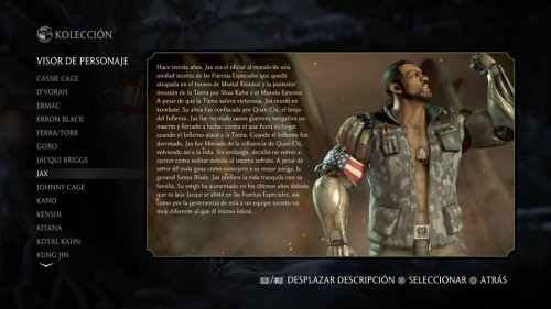 Jax traje 1 normal mortal kombat x criticsight