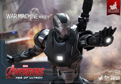 Set de Fotos de la Figura de War Machine Mark II en Avengers Age of Ultron por Hot Toys criticsight imagen 1