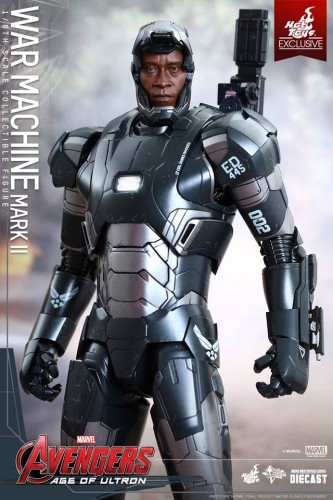 Set de Fotos de la Figura de War Machine Mark II en Avengers Age of Ultron por Hot Toys criticsight imagen 10