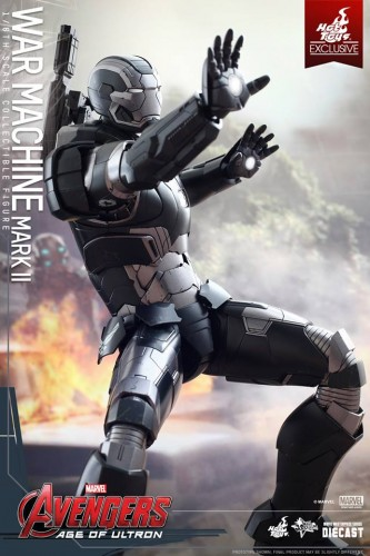 Set de Fotos de la Figura de War Machine Mark II en Avengers Age of Ultron por Hot Toys criticsight imagen 11