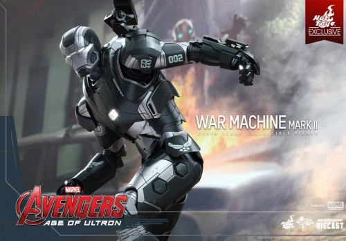 Set de Fotos de la Figura de War Machine Mark II en Avengers Age of Ultron por Hot Toys criticsight imagen 2