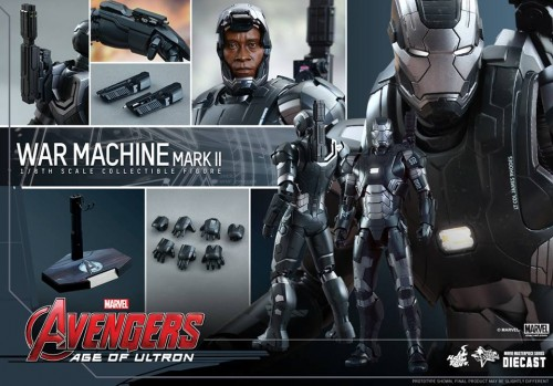 Set de Fotos de la Figura de War Machine Mark II en Avengers Age of Ultron por Hot Toys criticsight imagen 4