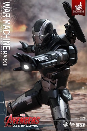 Set de Fotos de la Figura de War Machine Mark II en Avengers Age of Ultron por Hot Toys criticsight imagen 5