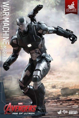 Set de Fotos de la Figura de War Machine Mark II en Avengers Age of Ultron por Hot Toys criticsight imagen 6