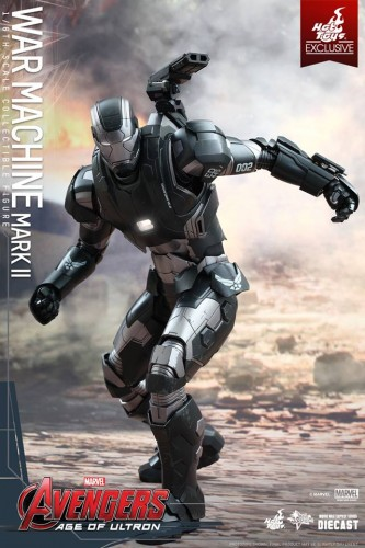 Set de Fotos de la Figura de War Machine Mark II en Avengers Age of Ultron por Hot Toys criticsight imagen 7