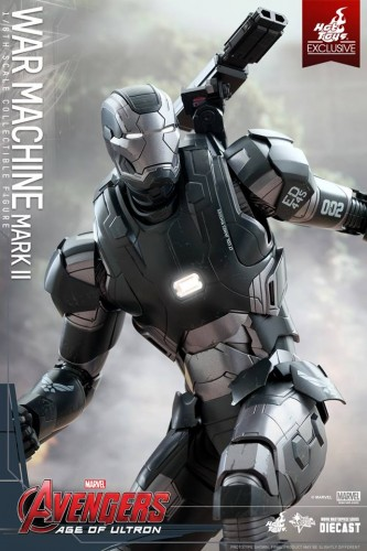 Set de Fotos de la Figura de War Machine Mark II en Avengers Age of Ultron por Hot Toys criticsight imagen 8