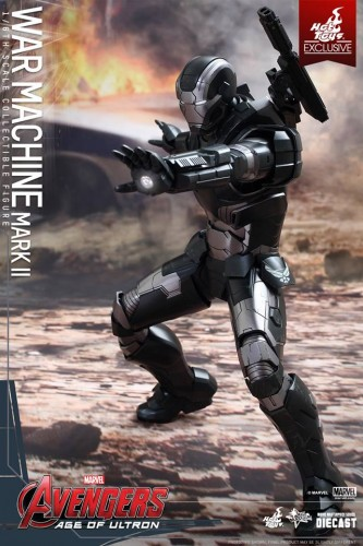 Set de Fotos de la Figura de War Machine Mark II en Avengers Age of Ultron por Hot Toys criticsight imagen 9