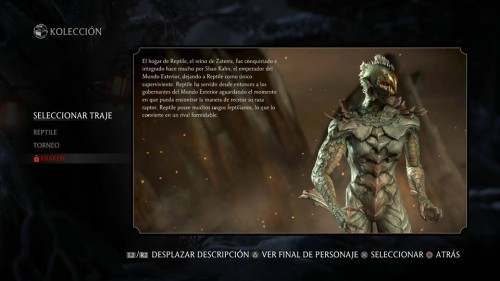 reptile traje 3 kraken version 2 mkx criticsight