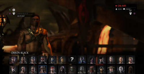 traje alterno erron black mortal kombat x criticsight