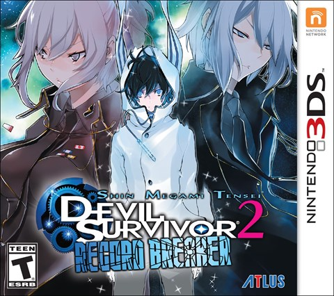 1 Shin Megami Tensei Devil Survivor 2 Record Breaker disponible solo en 3DS  criticsight