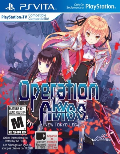 3 Operation Abyss New Tokyo Legacy solo en PS VITA  criticsight