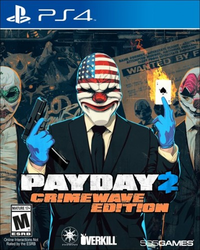 7 Pay Day 2 Crimewave Edition disponible en XBOX One y PS4  criticsight