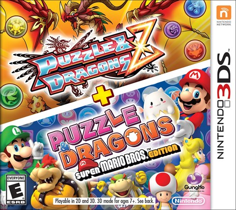 7 Puzzle and Dragons Z + Super Mario Bros. Edition solo en 3DS criticsight
