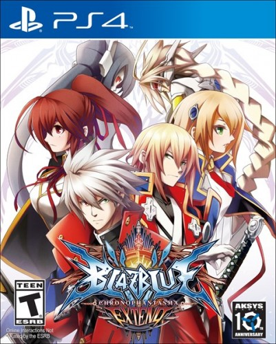 9 Blazblue Chrono Phantasma EXTEND disponible en XBOX One y PS4