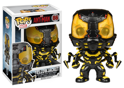 Funkos de Ant-Man yellow jacket criticsight
