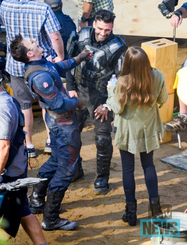 Mas Imágenes de las Filmaciones de Captain America Civil War, Robert Downey Jr, Paul Rudd se Unen al Rodaje criticsight 13