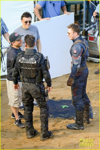 Mas Imágenes de las Filmaciones de Captain America Civil War, Robert Downey Jr, Paul Rudd se Unen al Rodaje criticsight 16